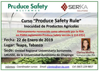 Produce Safety Rule