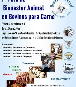 1er Foro Bienestar Animal 2019
